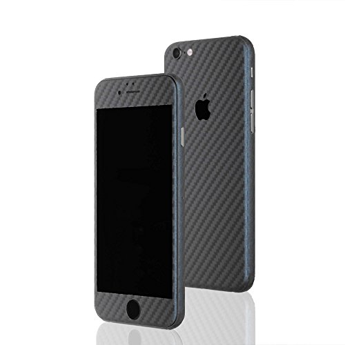 AppSkins Folien-Set iPhone 6s Full Cover - Carbon grey