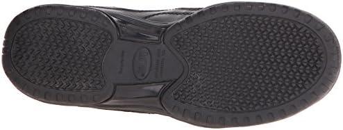 Adtec Men's Composite Toe Athletic Uniform Shoes, Black, 7 W US