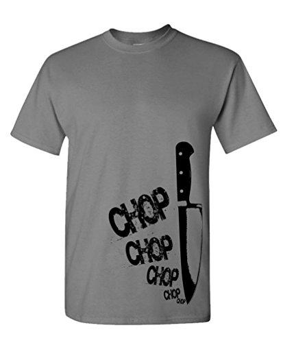 CHEFS KNIFE chop gourmet T Shirt