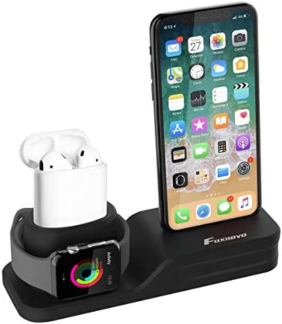 Foxnovo Silicone Charger Station Decoration