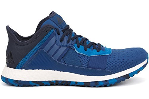 adidas Performance Men's Pure Boost ZG Cross Trainer Shoe, Equipment BlueShock BlueCollegiate Navy, 7.5 M US