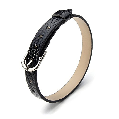 casual-8mm-serpentine-pu-leather-watch-band