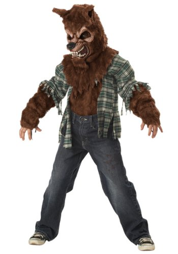 [California Costumes Howling At The Moon Child Costume, Large] (Wolf Halloween Costumes)