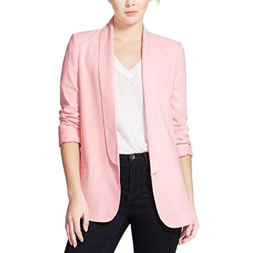Wholesale Enlishop Women's OL Long Sleeve Lapel Slim Boyfriend Blazer Jacket supplier