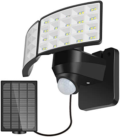 Dual Head Security Lights Motion Outdoor