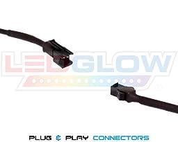 LEDGlow Pink SMD LED Slimline Underbody Underglow Car Light Kit