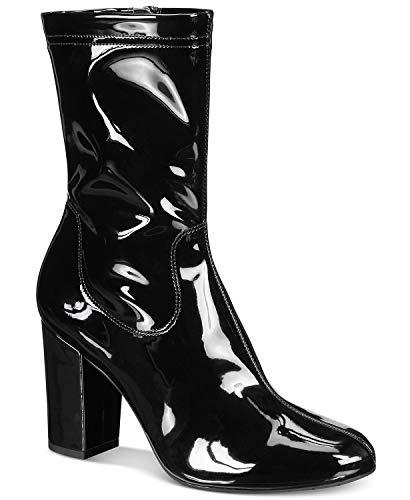Kenneth Cole New York Alyssa Patent Boot Women's Black