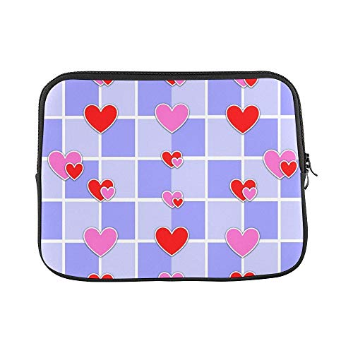 (Design Custom Love Hearts Valentine Decorative Pattern Romance 589392 Sleeve Soft Laptop Case Bag Pouch Skin for MacBook Air 11