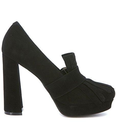 Jeffrey Campbell Berenice, Zapatos de Tacón con Punta Cerrada para Mujer Negro (Nero)