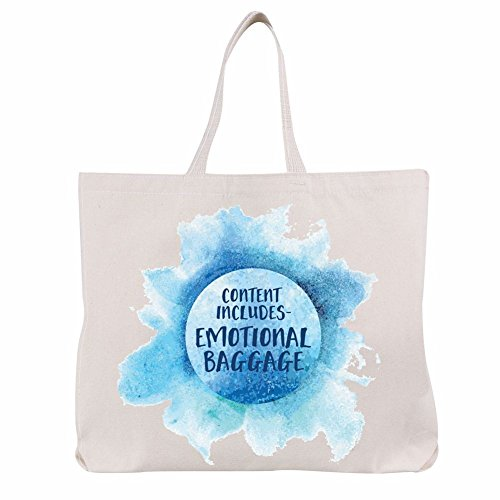 Women's Emotional Baggage - Funny Tote Bag - Exclusive From What On Earth