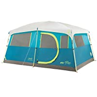 Coleman 8-Person Camping Tent with Built-in Closet |...