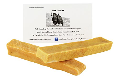 (Himalayan Yak Snak Dog Chew - Small to Medium 2 Pack - Hard Cheese Snack Chews for Your Dog or Puppy Made from Yak Milk - All Natural - No Preservatives - Healthy - Limited Ingredients)