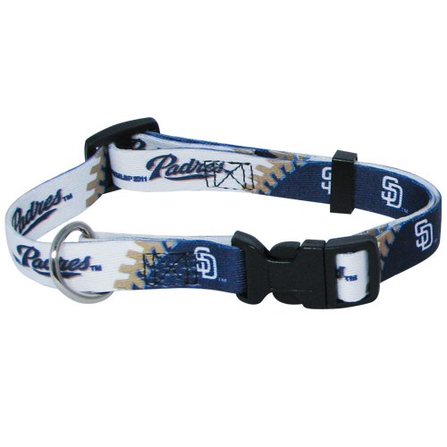 hunter-mfg-san-diego-padres-dog-collar-extra-large