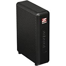 Zoom 8x4 Cable Modem, 343 Mbps DOCSIS 3.0, Model 5345, Certified by Comcast XFINITY, Charter Spectrum, Time Warner Cable and Other Service Providers