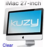 "Kuzy - Clear Screen Protector Filter for 27 inch iMac Desktop Display 27"" Model: A1312 and A1419 - CLEAR"