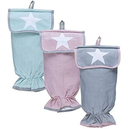 Guarda bolsas love star color diseño moderna (Rosa): Amazon ...