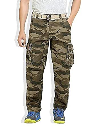 Grok Stylish and Trendy Military Print Cargo for Men