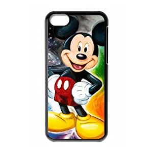 Mickey Mouse Disney iphone 5C Cell Phone Case Black Phone Accessories JV169G96