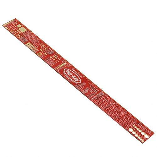 PCB-RULER-12INCH Digi-Key Electronics Tools Pack of 10 (PCB-RULER-12INCH)