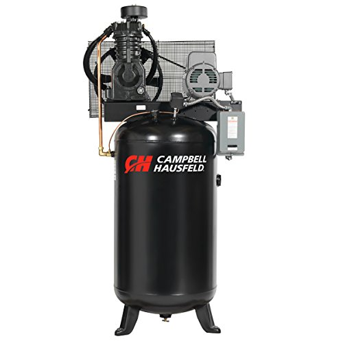 Air Compressor, 80 Gallon, Vertical Tank, Two Stage, 17.2CFM