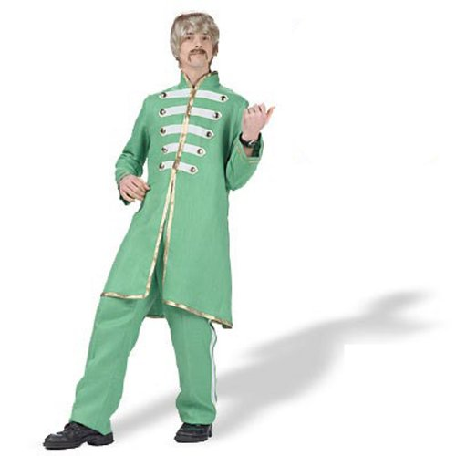 (Sargent Pepper Band Costume Green Size Large)