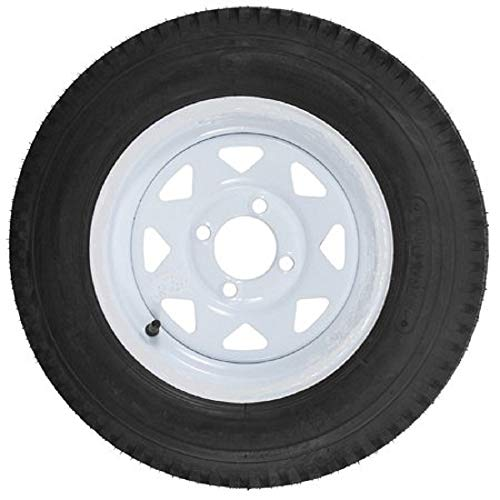 Tires Trailer Atv (Martin Wheel AMRM-DM412B-4I 4.80 x 12 Trailer Tire & Rim Assembly 480 Series 4 Lug)