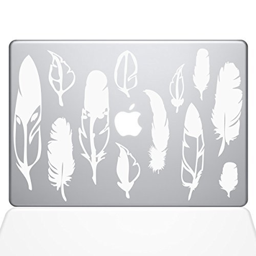 高価値セリー The Decal Guru Woodland The Feathers newer) Macbook Macbook Decal Vinyl Sticker - 15 Macbook Pro (2016 & newer) - White (1267-MAC-15X-W) [並行輸入品] B0788G71L1, こわけや:00b8b7e7 --- svecha37.ru