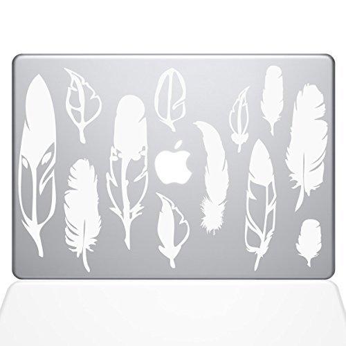 格安新品  The Decal Guru Woodland White Feathers Macbook (1267-MAC-15X-W) Decal Vinyl Sticker [並行輸入品] - 15 Macbook Pro (2016 & newer) - White (1267-MAC-15X-W) [並行輸入品] B0788G71L1, 創快健美:b84e2c13 --- a0267596.xsph.ru