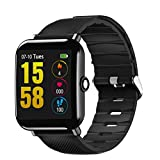 Smart Watch, OUKITEL Activity Fitness Tracker with Heart Rate Monitor, Waterproof Structure, Sleep Monitor, Step Counter, Calorie Count Pedometer Band for iOS and Android