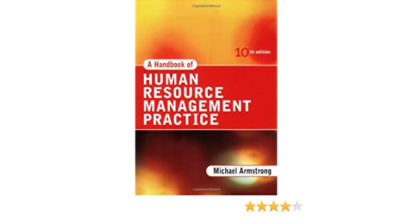 armstrong's handbook of human resource management practice pdf free