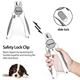 Tpotato Dog Nail Clippers,Dog Nail Trimmer for