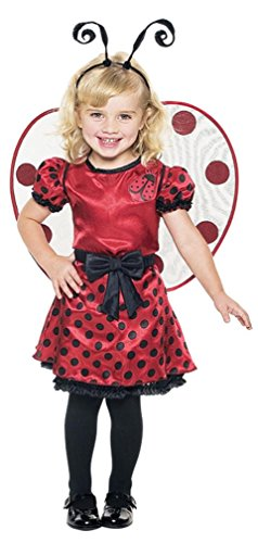 Ladybug Toddler With Wings Costume, 2T