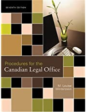 Procedures for the Canadian Legal Office