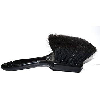 "1/"" Boar/'s Hair Detailing Brush Lug Nuts Vents Emblems Braun Automotive A5D"