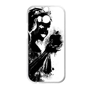 Artistic Snow White Phone Case for HTC One M8
