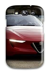 Slim Fit Protector Shock Absorbent Bumper Alfa Romeo Super Car Case For Galaxy S3