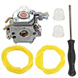 Harbot 309368001 Carburetor for Ryobi RY13010 RY13015 RY13050A RY34000 RY34420 RY34440 S430 RY64400 30CC 4-Cycle String Trimmer 309368003 with Fuel Line Adjustment Tool