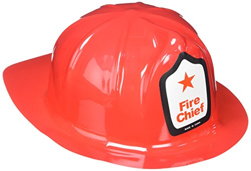 Rhode Island Novelty Adult Fireman Economy Hat, 12 (Adult Novelty Hats)