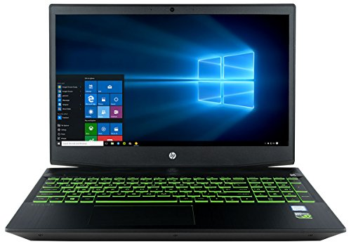 "CUK Pavilion Gaming 15t Notebook (Intel i7-8750H, 8GB RAM, 16GB Intel Optane + 1TB HDD, NVIDIA GeForce GTX 1050 Ti 4GB, 15.6"" Full HD IPS 60Hz, Windows 10 Home) Gamer Laptop Computer"