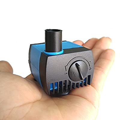 UL80 Submersible Pump, 80 GPH, 0.8M, For Aquarium/ Hydroponic/ Fish Tank /Fountain/ Statuary