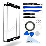 galaxy 5 screen repair kit - MMOBIEL Front Glass forSamsung Galaxy Note 5 N920 Series (Black) Display Touchscreen incl Tool Kit / Pre-cut Sticker / Tweezers/ Roll of 2mm Adhesive Tape / Suction Cup / MetalWire / cleaning cloth