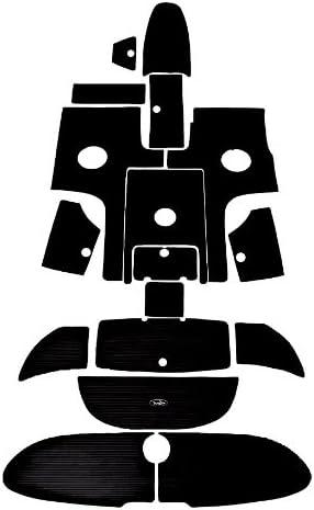 Black Groove SX230//230 HO Yamaha Jet Boat Interior Traction Mats 2005-2006 AR230//230 HO SR230