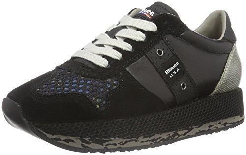 Blauer USA Wofasrun - Zapatillas Mujer Negro - negro