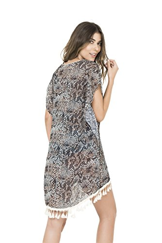 BEACH PITON DRESS PRINT UP PRINT DRESS COVER UP UP PRINT PITON BEACH PITON COVER COVER Y6wEqHRA