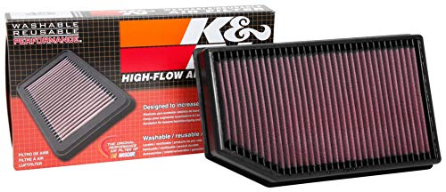 K&N engine air filter, washable and reusable:  2018-2019 Chevy/GMC/Holden (Equinox, Terrain) 33-5069