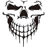 Black Skull Decal for Car Truck Hood Side Door Bumper Reflective car Sticker Tailgate Decoration
