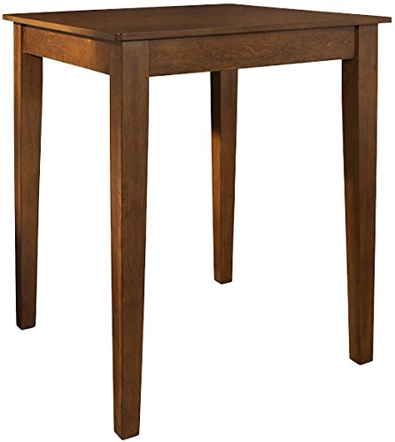 Crosley Furniture 32-inch Tapered Leg Pub Table - Classic Cherry