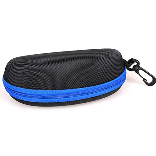 à de Zipper Portable Housse Lunettes Protection Etui Cas Eyewear de LAAT Lunettes Coque Soleil Boîte Bleu EVA q15nU