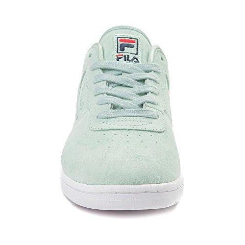 Fila Vrouwen Originele Fitness Premium Sneakers Mint / Wit 2011