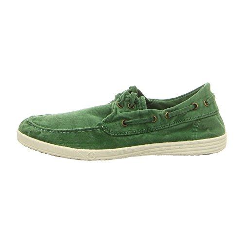 Chaussures En Tissu Naturel Vert 303e Monde Verde Jara